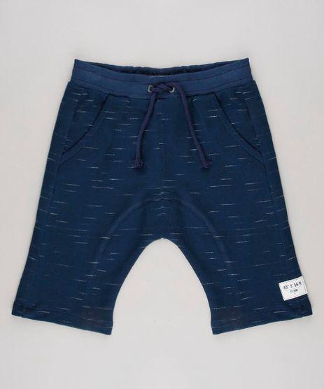 Bermuda-Infantil-com-Recortes-em-Moletom--Azul-Marinho-9635080-Azul_Marinho_1