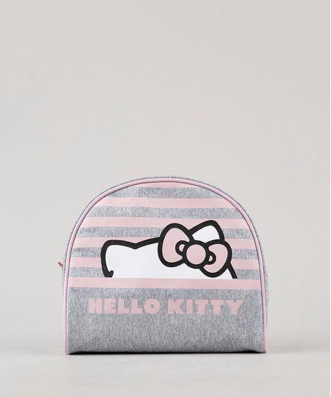 Necessaire-Feminina-Hello-Kitty-Cinza-Mescla-9643015-Cinza_Mescla_1