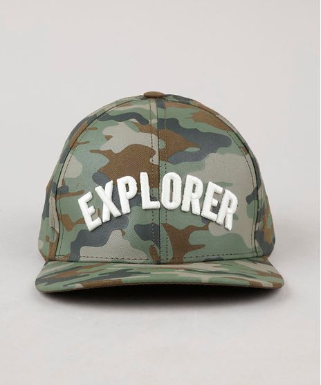 Bone-Infantil-Aba-Reta-Estampado-Camuflado--Explorer--Verde-Militar-9639675-Verde_Militar_1