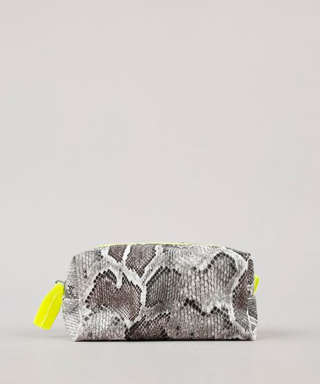 Necessaire-Feminina-Estampada-Animal-Print-Cinza-9643022-Cinza_1