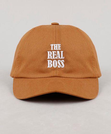 Bone-Infantil-Tal-Pai-Tal-Filho-Aba-Curva--The-Real-Boss--Caramelo-9634199-Caramelo_1
