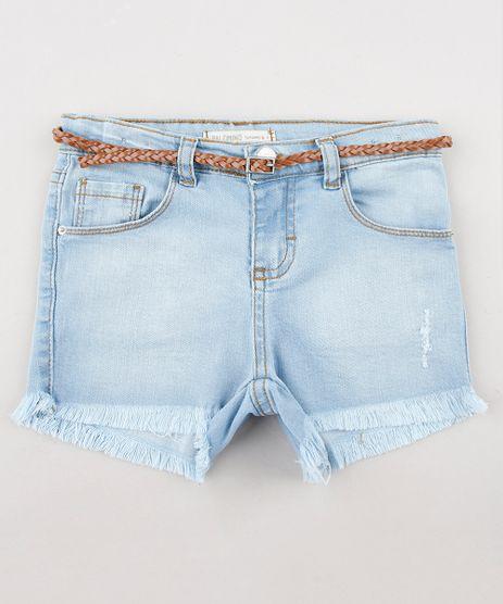 Short-Jeans-Infantil-com-Cinto-Barra-Desfiada-Azul-Claro-9633287-Azul_Claro_1