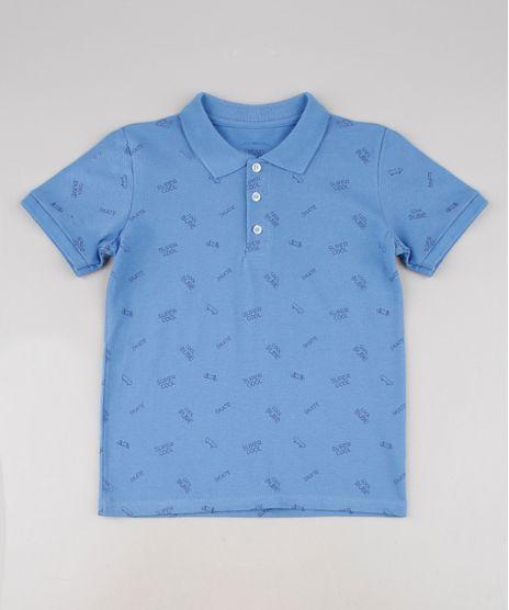 Polo-Infantil-Estampada-Skate-em-Piquet-Manga-Curta-Azul-9638626-Azul_1