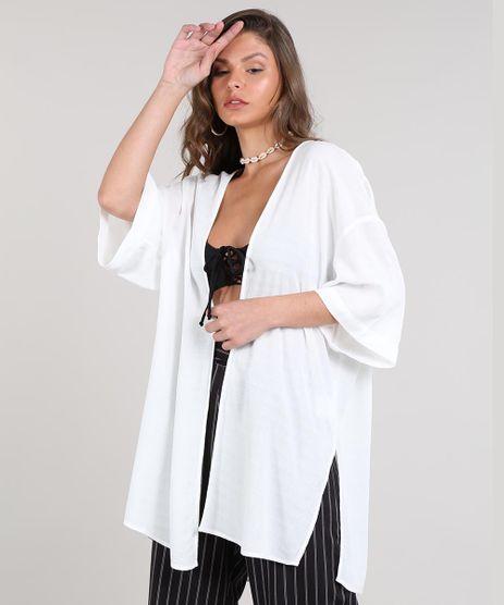 Kimono-Feminino-Texturizado-Com-Fendas-Branco-9514238-Branco_1