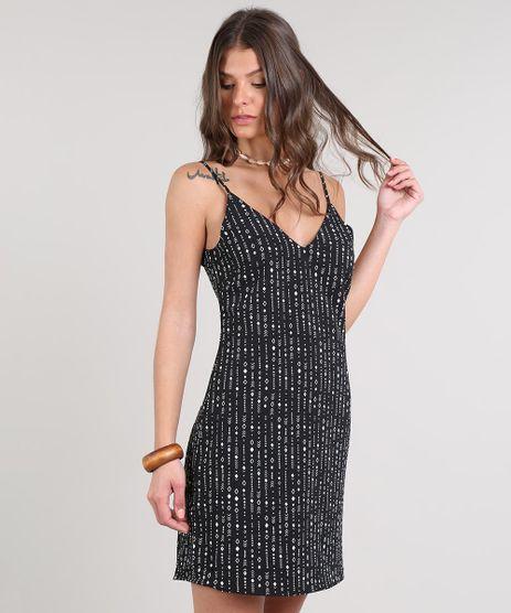 Vestido-Feminino-Curto-Evase-Estampado-Geometrico-Alcas-Finas-Preto-9514236-Preto_1