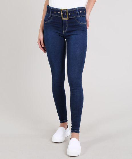 Calca-Jeans-Feminina-Sawary-Skinny-Com-Cinto-Azul-Escuro-9619263-Azul_Escuro_1