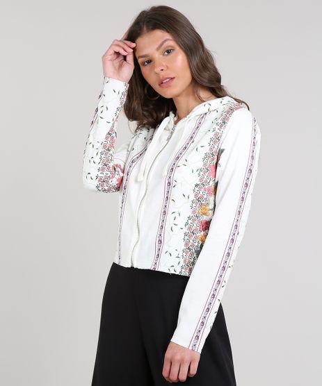 Blusao-Feminino-Estampado-Floral-em-Moletom-com-Ziper--Off-White-9615693-Off_White_1