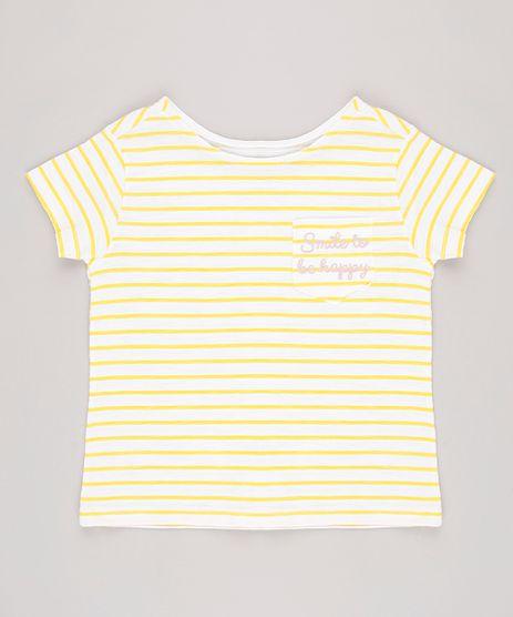 Blusa-Infantil-Estampada-Listrada-Com-Bolso-Manga-Curta-Amarela-9623064-Amarelo_1