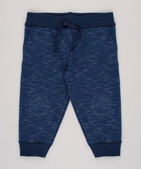 Calca-Infantil-Basica-em-Moletom-com-Bolso-Azul-Marinho-9593584-Azul_Marinho_1
