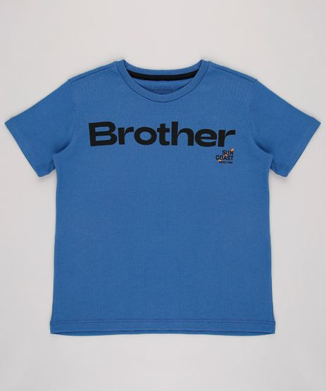 Camiseta-Infantil--Brother--Manga-Curta--Azul-9649880-Azul_1
