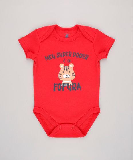 Body-Infantil--Meu-super-poder------Manga-Curta-Vermelho-9584540-Vermelho_1