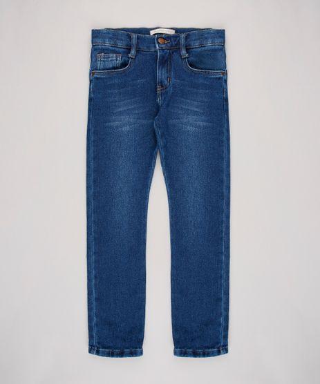 Calca-Jeans-Infantil-Color-Slim-com-Bolsos--Azul-Escuro-9636923-Azul_Escuro_1