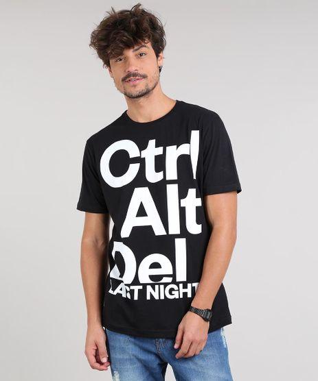 Camiseta-Masculina--Ctrl-Alt-Del--Manga-Curta-Gola-Careca-Preta-9523687-Preto_1