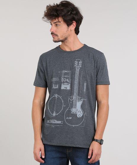 Camiseta-Masculina-Guitarra-Manga-Curta-Gola-Careca-Cinza-Mescla-Escuro-9629242-Cinza_Mescla_Escuro_1