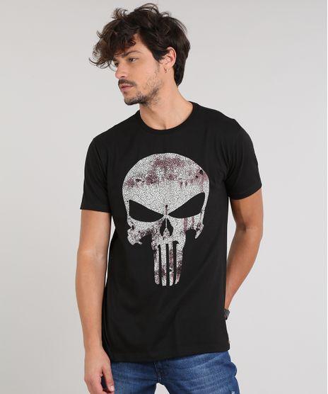 Camiseta-Masculina-Justiceiro-Manga-Curta-Gola-Careca-Preta-9639883-Preto_1