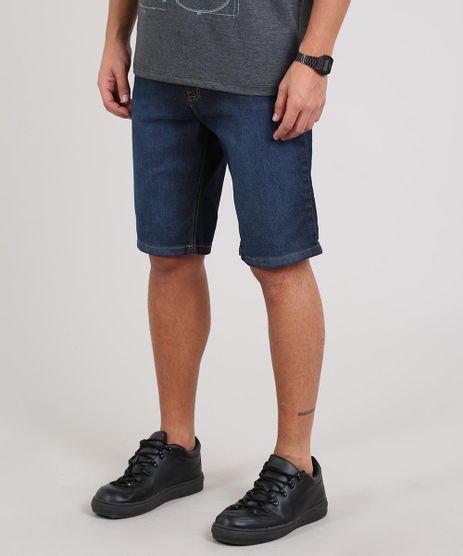 Bermuda-Jeans-Masculina-Slim-Com-Bolsos-Azul-Escuro-9594237-Azul_Escuro_1