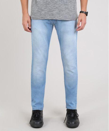 Calca-Jeans-Masculina-Slim-com-Bolsos-Azul-Claro-9602355-Azul_Claro_1