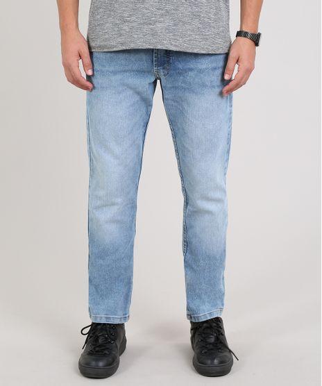 Calca-Jeans-Masculina-Slim-com-Bolsos-Azul-Claro-9634700-Azul_Claro_1