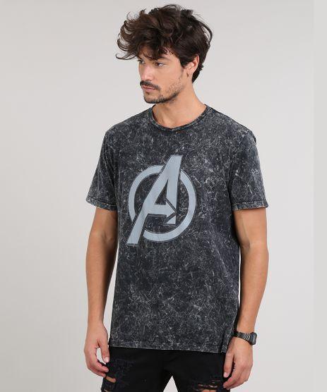 Camiseta-Masculina-Avengers-Manga-Curta-Gola-Careca-Preta-9647499-Preto_1
