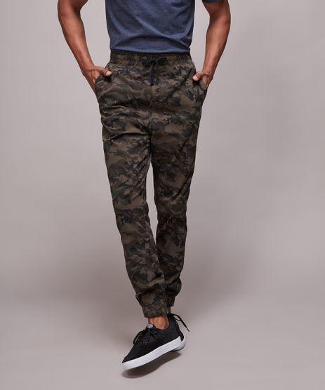 Calca-de-Sarja-Masculina-Jogger-Skinny-Estampada-Camuflada-Verde-Militar-9583523-Verde_Militar_1