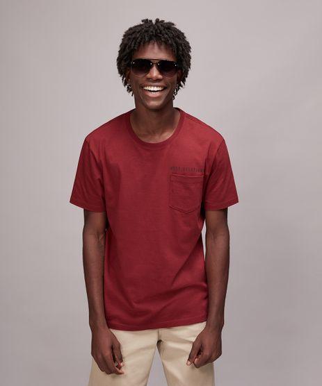 Camiseta-Masculina--Need-Solutions--Com-Bolso-Manga-Curta-Gola-Careca-Vinho-9610023-Vinho_1