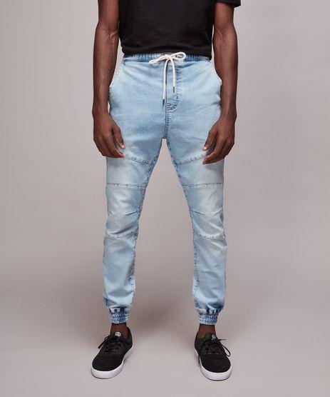 Calca-Jeans-Masculina-Jogger-com-Recortes-Azul-Claro-9614902-Azul_Claro_1