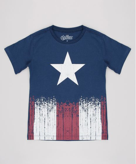 Camiseta-Infantil-Capitao-America-Manga-Curta-Azul-Marinho-9628900-Azul_Marinho_1