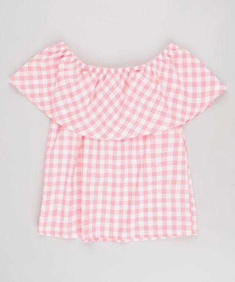 Blusa-Infantil-Ciganinha-Estampada-Xadrez-Rosa-9623972-Rosa_1