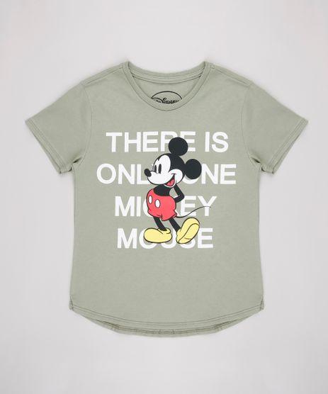Blusa-Infantil-Mickey-Manga-Curta-Verde-9635663-Verde_1
