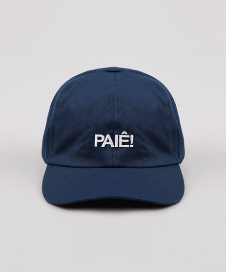 Bone-Masculino-Aba-Curva-com-Bordado--Paie---Azul-Marinho-9636638-Azul_Marinho_1