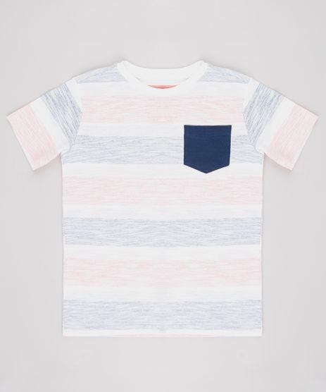 Camiseta-Infantil-Listrada-com-Bolso-Manga-Curta--Off-White-9630897-Off_White_1