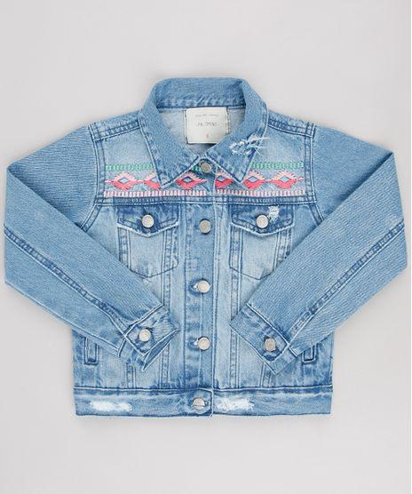 Jaqueta-Jeans-Infantil-com-Bordado-Azul-Medio-9654495-Azul_Medio_1