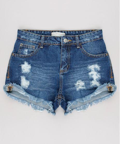 Short-Jeans-Infantil-Destroyed-Azul-Escuro-9624829-Azul_Escuro_1