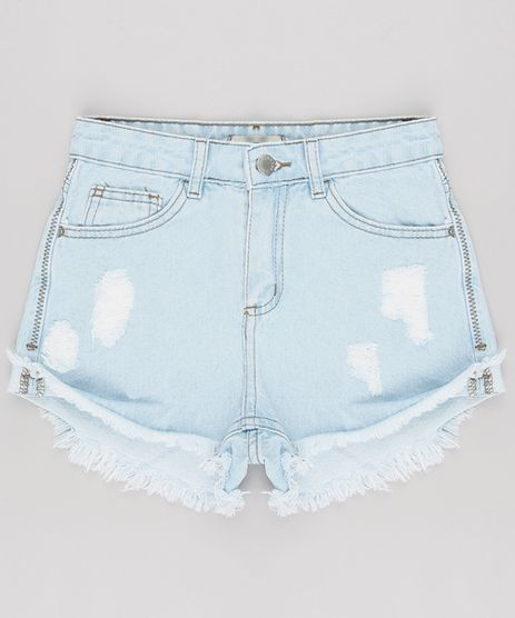 Short-Jeans-Infantil-Destroyed-Azul-Claro-9624830-Azul_Claro_1