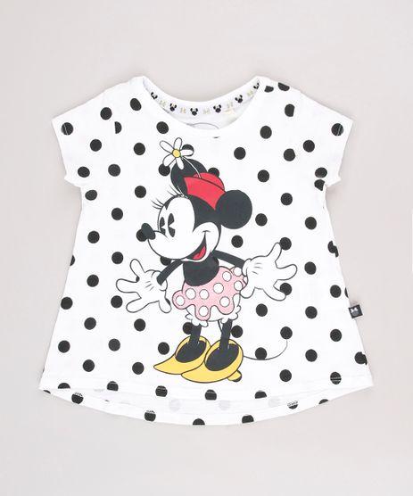 Blusa-Infantil-Minnie-Estampada-de-Poa-Manga-Curta-Decote-Redondo-Off-White-9549212-Off_White_1