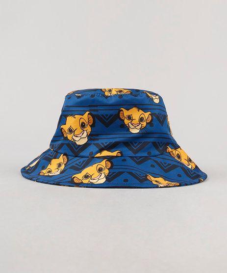 Chapeu-Infantil-Estampado-Simba-o-Rei-Leao-Azul-Marinho-9542464-Azul_Marinho_1