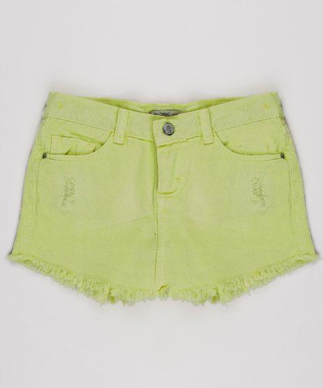 Short-Saia-de-Sarja-Infantil-Barra-Desfiada-Amarelo-Neon-9638830-Amarelo_Neon_1