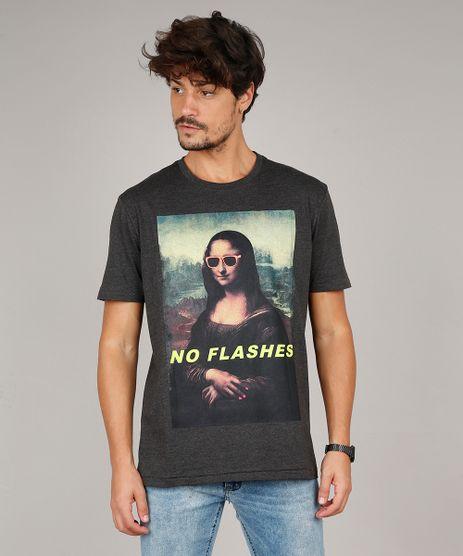 Camiseta-Masculina--No-Flashes--Manga-Curta-Gola-Careca-Cinza-Mescla-Escuro-9597457-Cinza_Mescla_Escuro_1