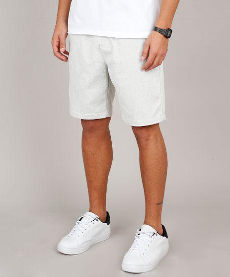 Bermuda-Masculina-Slim-com-Bolsos-e-Cordao-Off-White-9595437-Off_White_1
