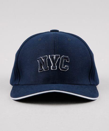 Bone-Masculino-Aba-Curva-com-Bordado--NYC--Azul-Marinho-9482542-Azul_Marinho_1