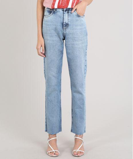 Calca-Jeans-Feminina-Mindset-Reta-Azul-Claro-9707542-Azul_Claro_1