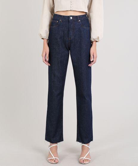 Calca-Jeans-Feminina-Mindset-Reta-Azul-Escuro-9707541-Azul_Escuro_1