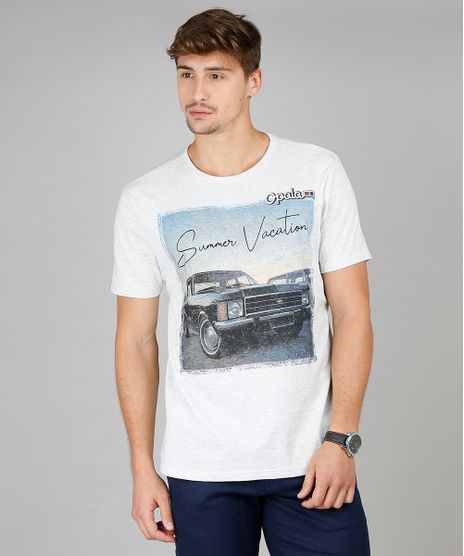 Camiseta-Masculina-Opala--Summer-Vacation--Manga-Curta-Gola-Careca-Cinza-Mescla-Claro-9592591-Cinza_Mescla_Claro_1
