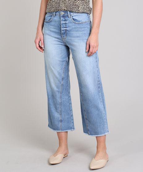 Calca-Jeans-Feminina-Pantacourt-com-Recorte-Barra-Desfiada-Azul-Medio-9664033-Azul_Medio_1