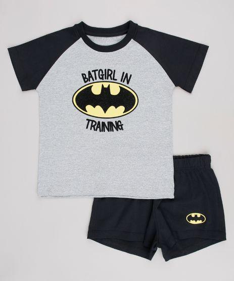 Pijama-Infantil-Tal-Pai-Tal-Filha-Batgirl-Raglan-Manga-Curta-Cinza-Mescla-9634399-Cinza_Mescla_1