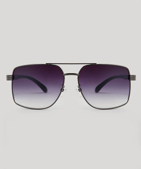 Oculos-de-Sol-Quadrado-Masculino-Oneself-Grafite-9671623-Grafite_1