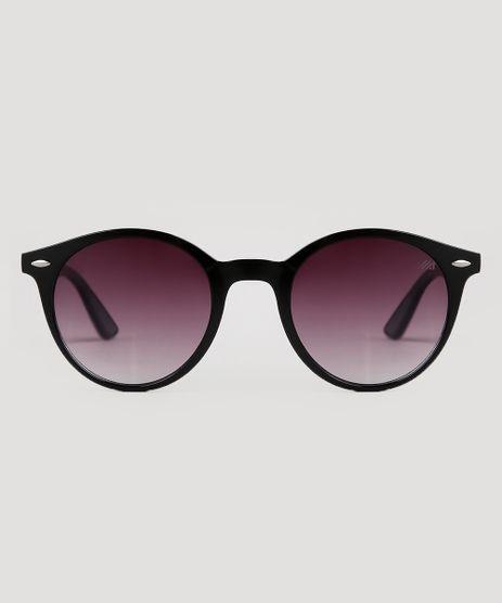 Oculos-de-Sol-Redondo-Unissex-Oneself-Preto-9681295-Preto_1
