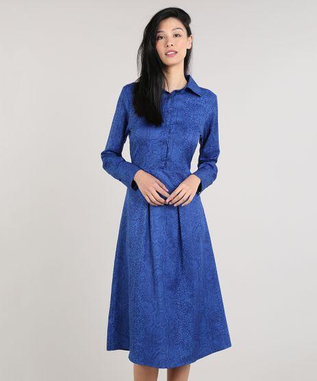Vestido-Feminino-Mindset-Midi-Estampado-Animal-Print-Manga-Longa-Azul-Royal-9674891-Azul_Royal_1