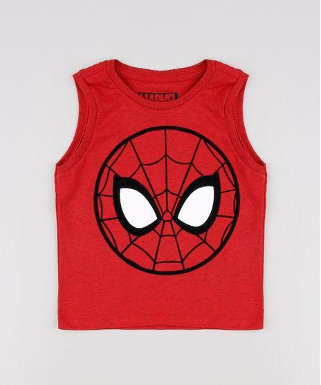 Regata-Infantil-Homem-Aranha-Vermelha-9619996-Vermelho_1