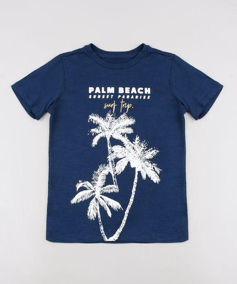 Camiseta-Infantil-Flame--Palm-Beach--Manga-Curta--Azul-Marinho-9625471-Azul_Marinho_1